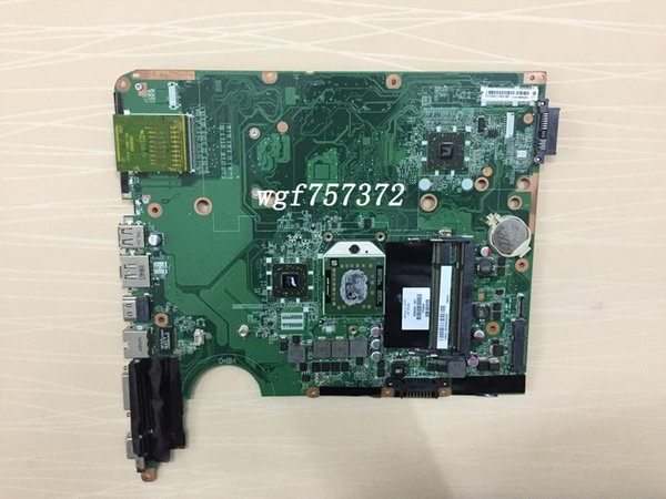 Für HP Pavilion DV6-1000 DV6Z-1000 Laptop Motherboard 509449-001 DA0UT1MB6D0 mit AMD CPU DDR2 AMD Notebook Systemboard