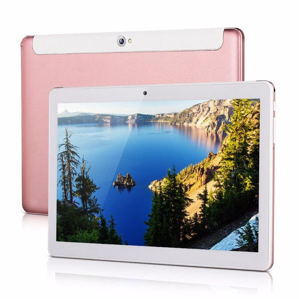 Wholesale- CARBAYSTAR 10.1 inch K999 Android4.4 tablets computer Smart android Tablet Pcs, Octa core dual sim card Tablets pc Rose gold