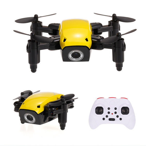 12PCS S9W 2.4G 4CH 0.3MP HD Camera Mini Helicopter WIFI FPV Altitude Hold Flight Planning Foldable RC Quadcopter Selfie Drone