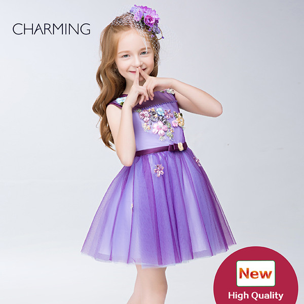 Natural beauty pageants for kids high quality Designer kids dresses Pageant competition Dresses for flower girls pageant dresses