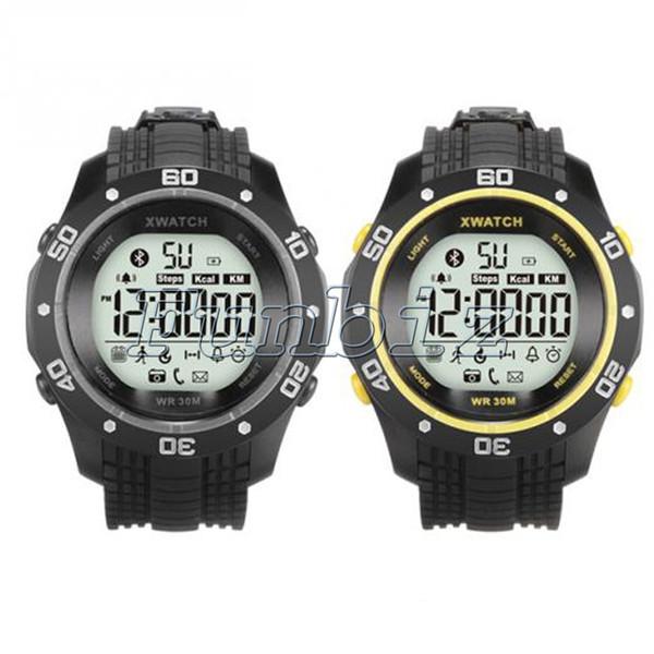 6856ef92ad8 XWatch À Prova D  Água Noite Visível Pedômetro Monitor de Sono Esporte Bluetooth  Relógio Inteligente