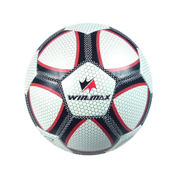 best selling Winmax Casual Brand Machine Stitched 3.0mm PVC Bright Color Soccer Ball Official Paintless Football Ball