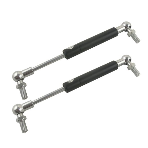 2pcs M8 Ball Joint Auto Gas Spring Damper Lift Strut Prop Shock For Furniture Car Hole Pitch 260mm 275mm 280mm