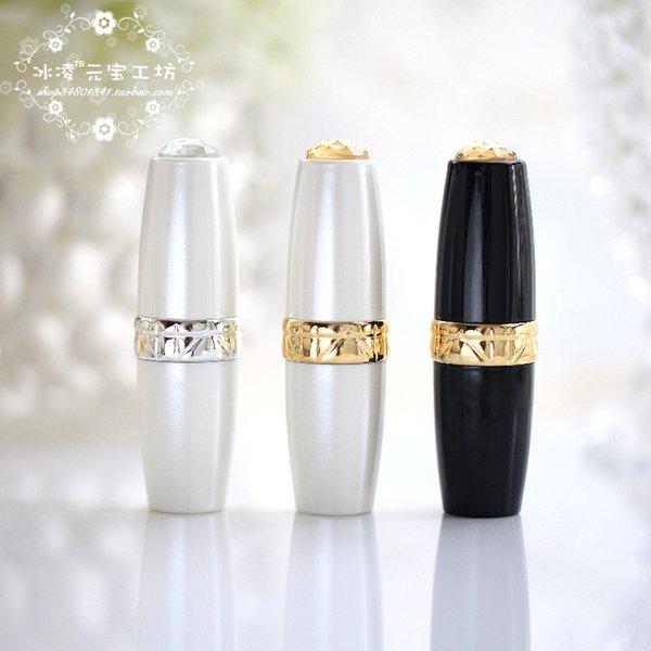 All'ingrosso-fai da te rossetto tubo rossetto fatto in casa grande perla rossetto 12.1 speciale diametro del tubo di alta qualità