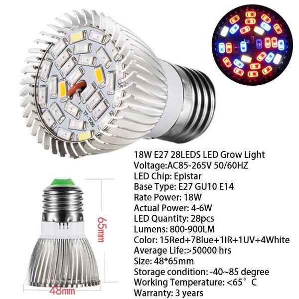 Bulb 28LED E27 Base