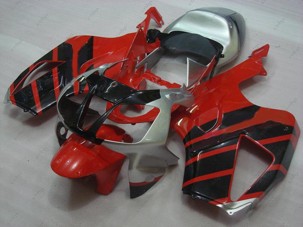 Plastic Fairings RTV1000R RC51 03 04 Bodywork for Honda VTR1000 RR 01 02 Red Black Body Kits VTR1000F SP1 06 05 2000 - 2006