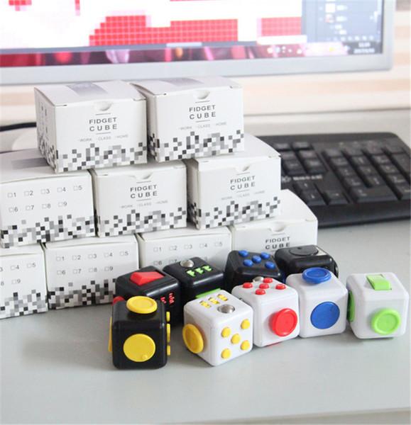 6 enfants Magic Fidget Cube Adulte Anti-Anxiété Soulagement du stress