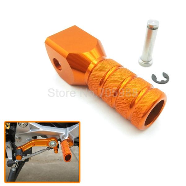 negozio del Regno Unito qualità eccellente buona qualità Acquista Orange For KTM EXC 125/200/250/300/380/400/550/500/520/525/530 EXC  F Accessori Moto CNC Alluminio Leva Del Cambio Leva Leva A $7.03 Dal Goris  ...