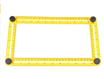 300pcs Multi-Angle Ruler Angle-izer Template Tool Angleizer Angle Template Tool Multi-Angle Ruler Flooring Template Tool