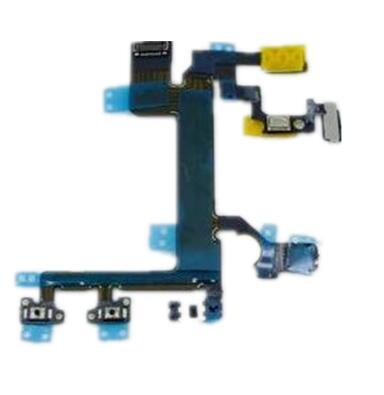Power Mute Volume Control Button Switch on/off Power Flex Cable for iPhone 5S