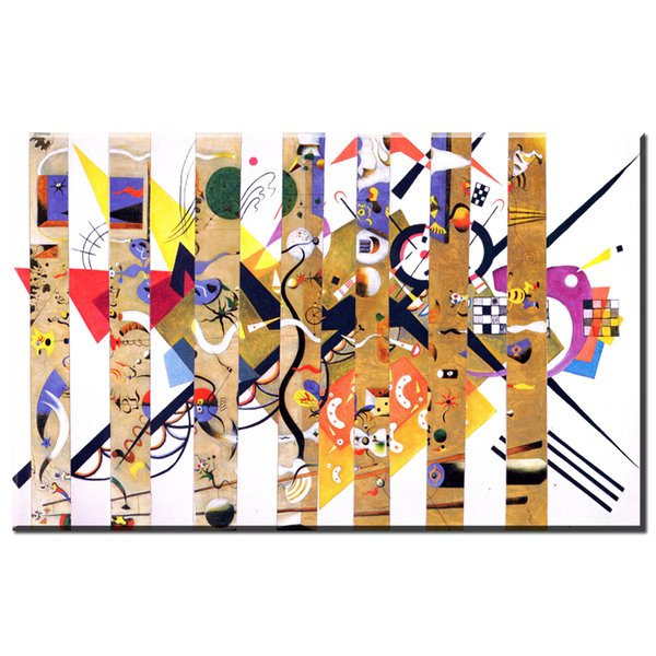 Großhandel Zz1171 Geometrie Design Wassily Kandinsky Kunst Leinwand ...