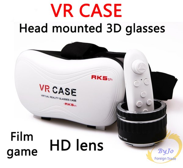 VR-BOX VR case With Gamepad 3D virtual reality glasses mobile home theater VR Glasses Google Cardboard