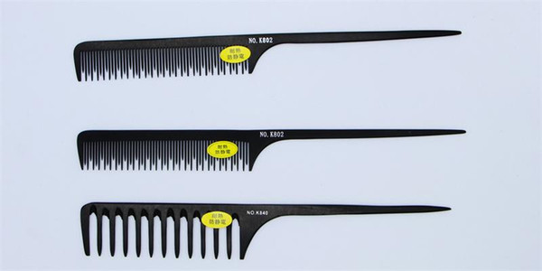 Hot Sale Hair Styling Wood Tail Combs Anti Static Professional Salon Wide Tine Comb High Quality Free Shipping.