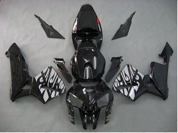Full Body Kits CBR600 RR 05 Body Kits for Honda CBR600RR 06 Black Plastic Fairings CBR 600 RR 2005 2005 - 2006