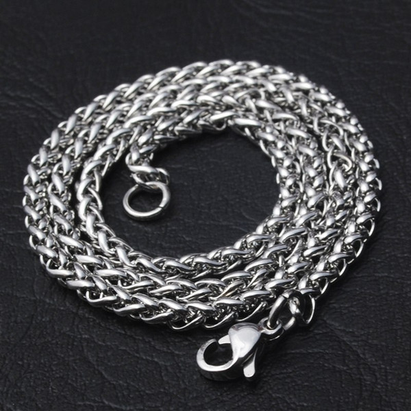 Mens Big 316L Stainless Steel Chain Keel Chains Wholesale Bulk Chain Necklace For Jewelry Making DIY Material Findings