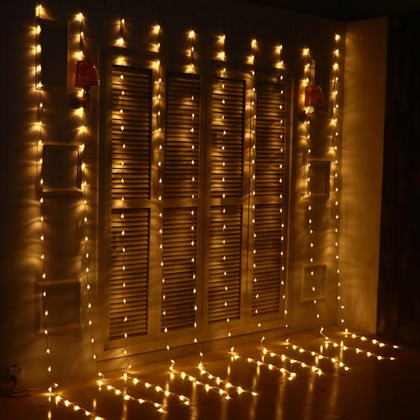 3 3m 320 bulbs led christmas lights outdoor waterfall curtain 3 3m 320 bulbs led christmas lights outdoor waterfall curtain lights garland new year wedding aloadofball Images