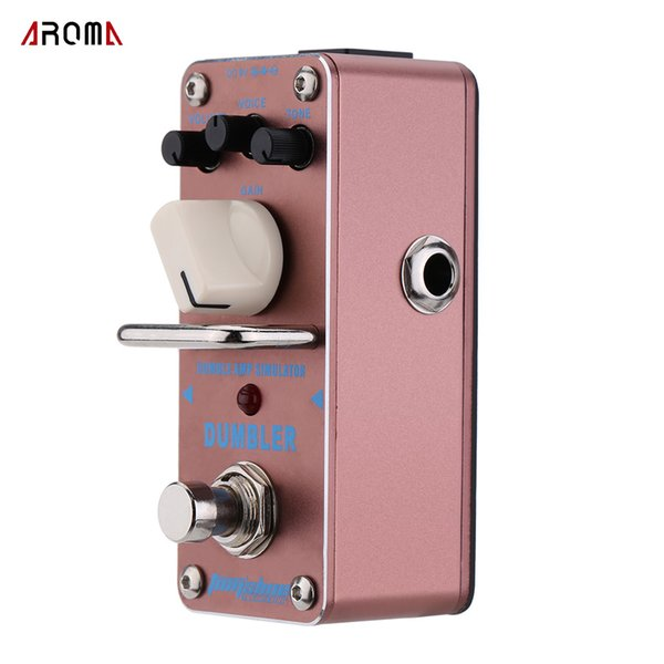 New Arrival! High Quality AROMA ADR-3 Dumbler Amp Simulator Mini Single Electric Guitar Effect Pedal with True Bypass