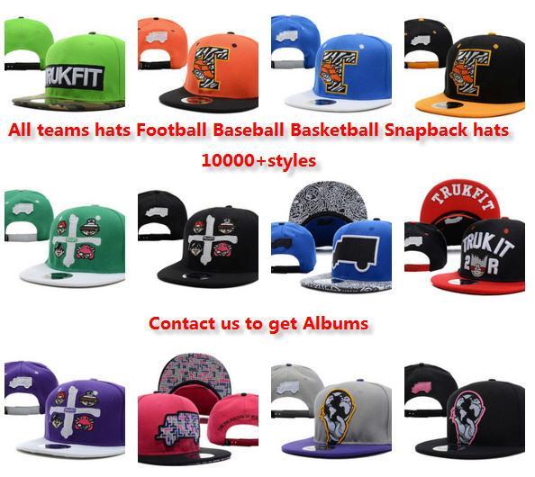 Vente en gros Nouvelle Arrivée Snapbacks Chapeaux Chapeau mode Trukfit Snapback Baseball Casual Casquettes Chapeau Taille réglable Haute Qualité 1000 + styles chapeaux