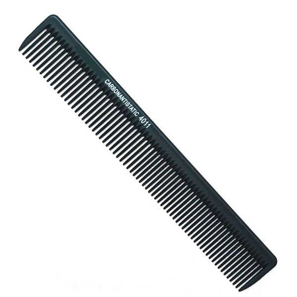 Wholesale- Salon Hairdressing Carbon Antistatic Comb Barber Cutting Comb Haircut Tool Fiber Professional Styling Combs