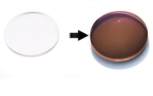 Photochromic brown Lenses