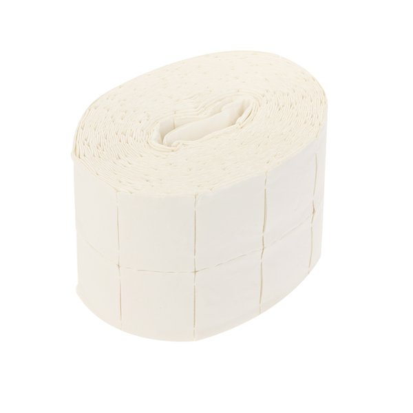 500Pcs/Roll Polish Remover Nail Art Cleaner Wipes Pads Paper Polish Tips Cotton Nail Art Soak Off Gel Wraps Salon Nail Art Tool