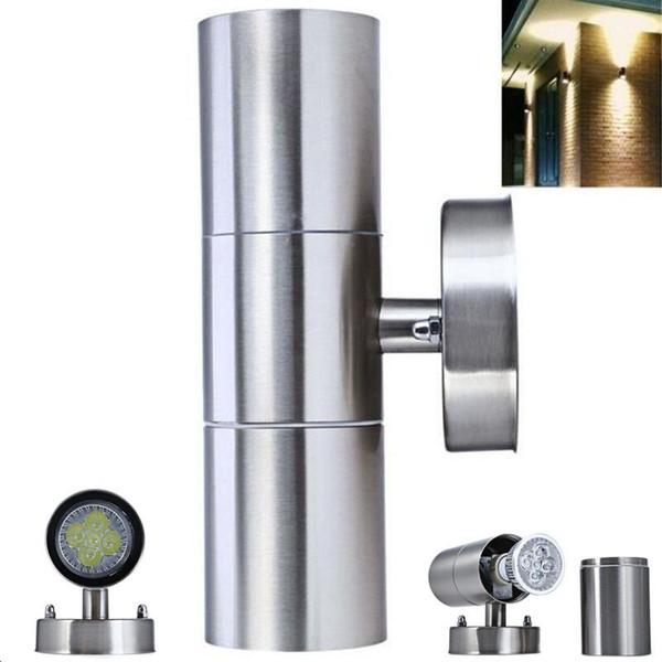 Super Bright Waterproof IP65 Stainless Steel 10W LED Outdoor Garden Up & Down Wall Light Lamp Yard Corridor Villas Parks Modern