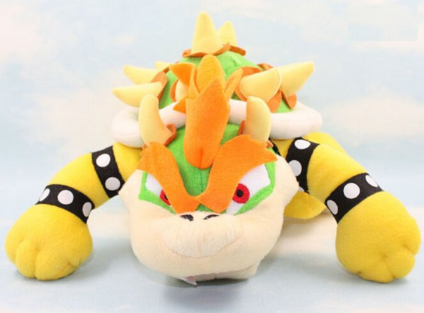 2019 New Super Mario Brothers Bowser King Koopa Jr Plush Toy Stuffed Plush Doll Sanei Approx 7 10 From Arielbaby 16 92 Dhgate Com