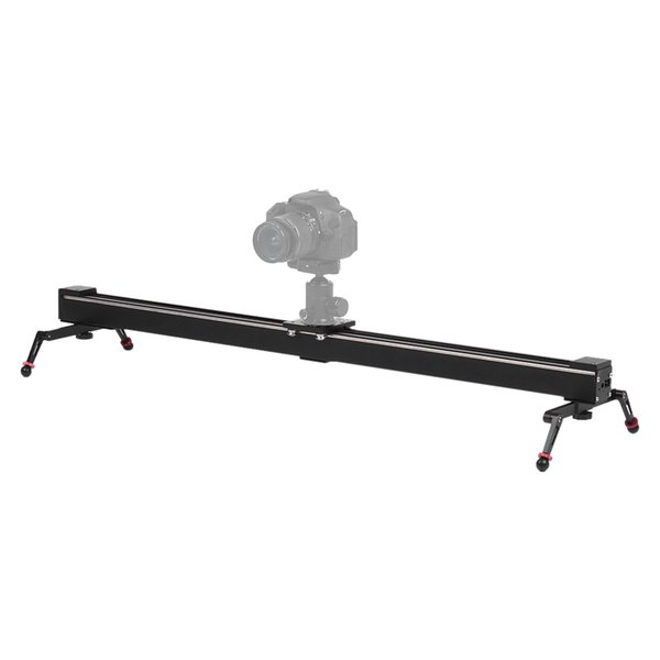 1m/3.3ft Photogrphy Track Dolly Rail Motorized Camera Stabilizer Electric Control Time Lapse Video Slider for Sony ILDC