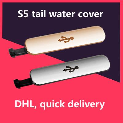 Wholesale-Waterproof Tail Plug Cover For Samsung S5 For Samsung G900F/H For G9008V USB Data Charging Port Dust Plug Block Water Proof