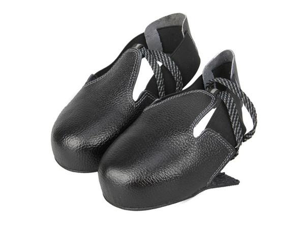 1 pair Taşınabilir Ziyaretçi çelik burunlu kap ayakkabı kapağı İş güvenliği ayakkabı ayakkabı bir boyut 36-45 uyar