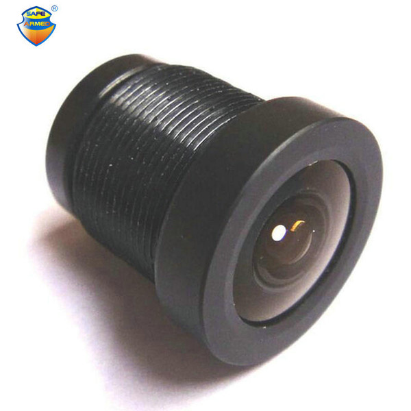 """2.5mm 130 degrees Wide Angle Lens Fixed IR Board CCTV Security Camera for both 1/3"""" and 1/4"""" CCD For Free Shipping"""