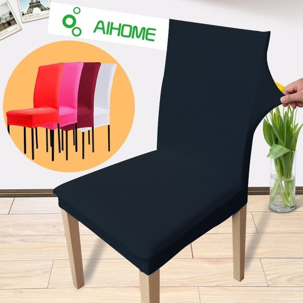 High Stretch Spandex Chair Cover for Wedding Banquet Hotel Bar Home and Party Supplies Many Color Available Free Shipping