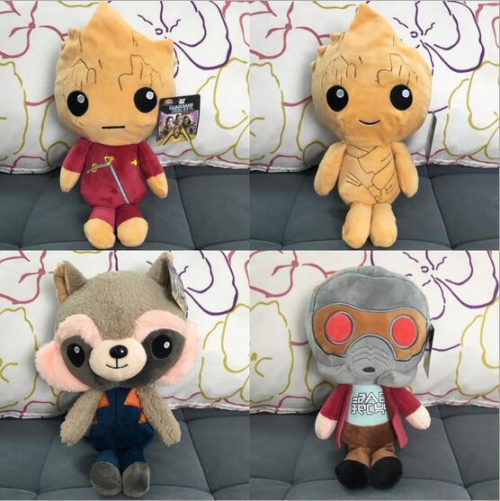 20 cm guardiões da galáxia bonecos de pelúcia guardiões da galáxia de pelúcia brinquedos de pelúcia crianças brinquedos de presente de natal para crianças 100 pcs