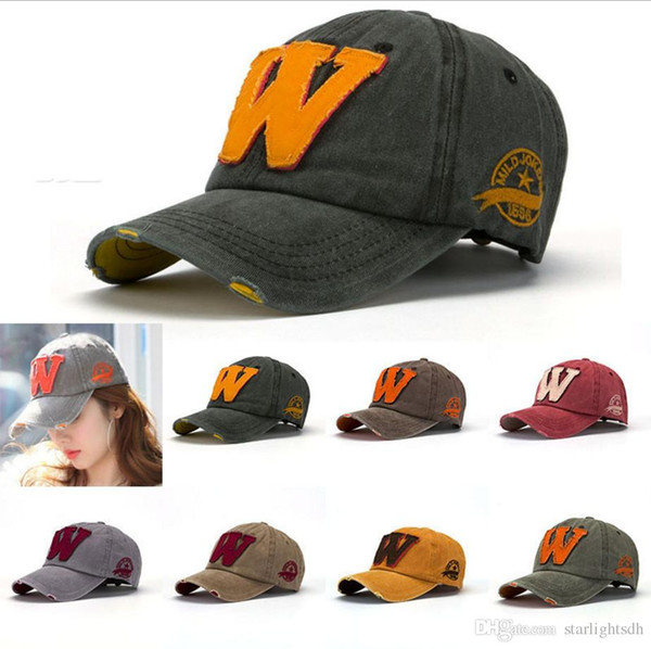Baeball Cap M Word Print Doing Old Design Korea Style for Men & Woman 100% Cotton Material Hands Washing out158
