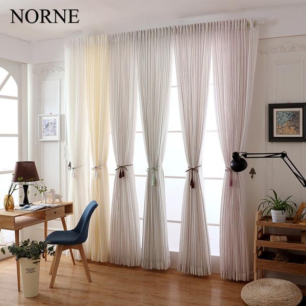 Acquista Norne Modern Tulle Window Tende Soggiorno The Bedroom The ...