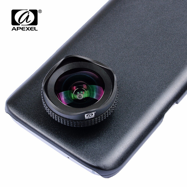 APEXEL PRO 16mm 4K wide angle circular polarizing CPL Filter wide mobile phone Camera kit forSamsung galaxy s7/s7 edge lens