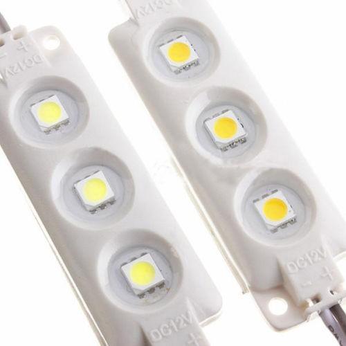 beste Qualität wasserdicht IP67 5050 SMD LED Modul 12V Weiß / Rot / Grün / Blau / super helle Spritzgussmodule klare Linse
