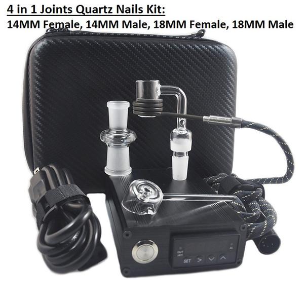 Black Case Banger Quartz Nail Kit