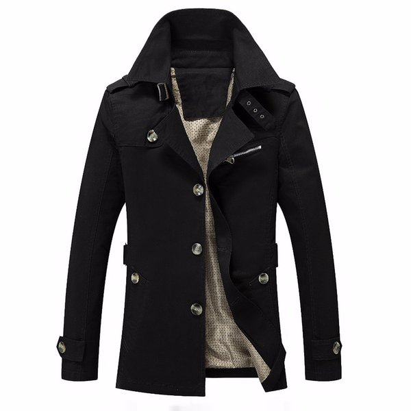 2017 Men's Winter Jacket Fashion Windbreaker Quality Military Waterproof Men Jacket Coat Brand Clothing Army Casaco Masculino