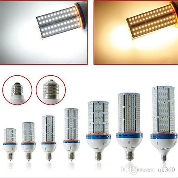 Súper Brillante SMD 2835 Led bombilla de maíz E27 E40 20 W 30 W 40 W 60 W 80 W 100 W 120 W Led Luz de Maíz 360 Ángulo Led bombilla de maíz lámpara de iluminación AC100-300V