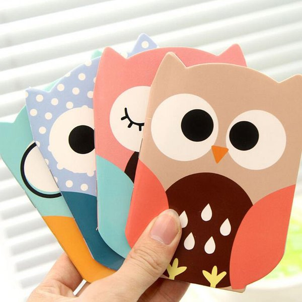Wholesale- Korean Cartoon Creative Stationery Notepad Cute Cartoon Owl Filofax Notebook paper Diary Students Office Supplies School