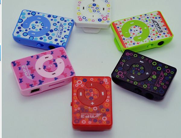 Al por mayor-Bajo Carbono MP3 Mini Cartoon MP3 Nuevo tipo de Mini Reproductor de MP3 para Tarjeta TF Venta caliente no incluye tarjeta tf
