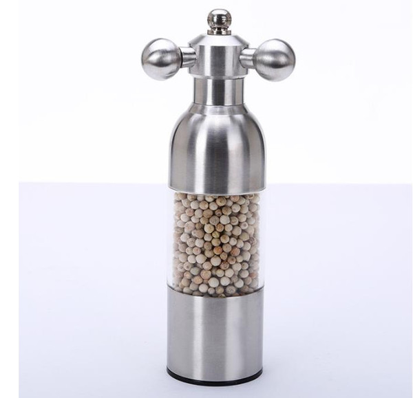 по DHL или EMS 50 шт. кухонные принадлежности высокого класса из нержавеющей стали мельница для перца кран форма мельница для перца ручной шлифовальный станок