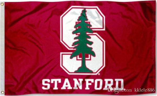Bandiera Stanford Cardinal 90 x 150 cm Banner in NCAA stelle e strisce in poliestere