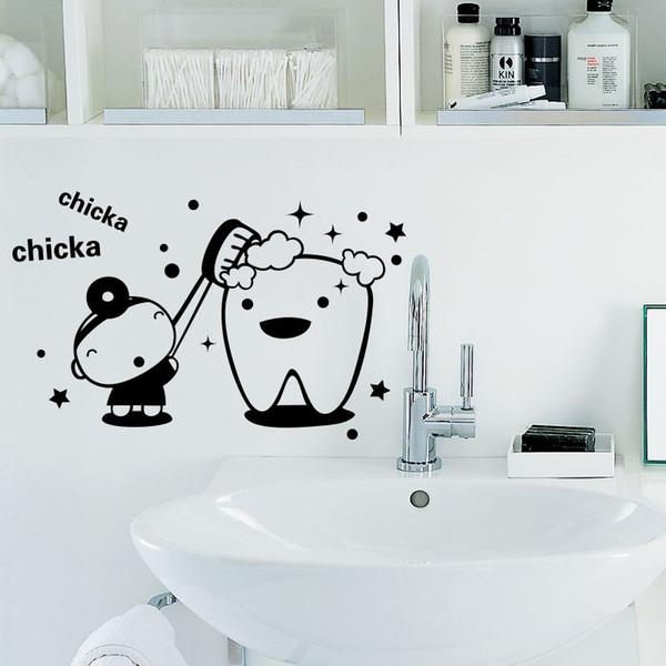 Lovely Wall Decal Sticker Home Decor DIY Removable Art Vinyl Mural For Mirror/Cabinet/Bathroom/Tile/Glass QTM17 Cartoon