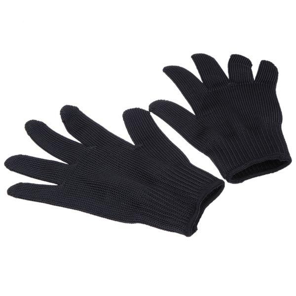 Envío gratis al por mayor 1 par de corte de malla de metal anti-corte transpirable guantes nuevos guantes de la llegada