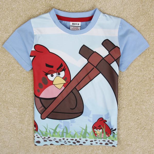 Angry Birds Top T-shirt Kids Boys
