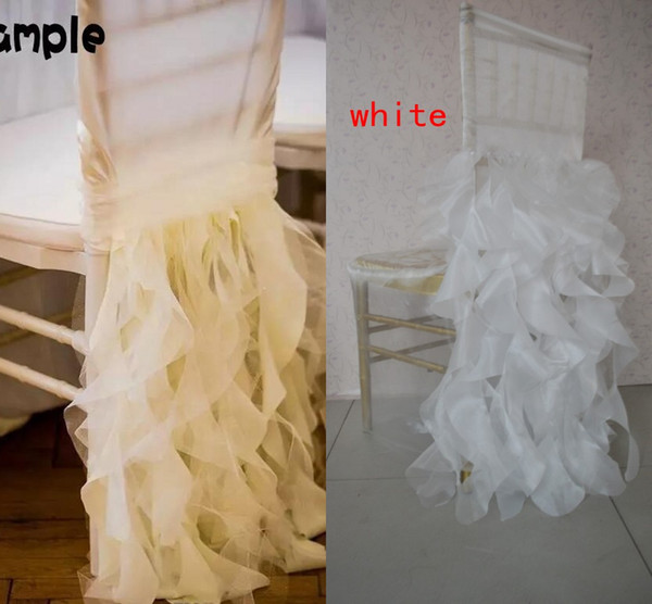 Link For Chair Cover Romantic Beautiful Cheap New Arrival Real Picture Chair Sashes Colorful Wedding Supplies