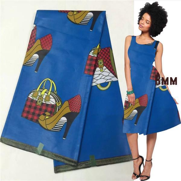 Купить синюю ткань для платья