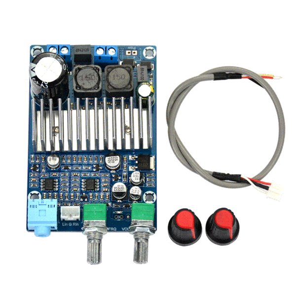 DC12-24v TPA3116 Subwoofer Amplifier Board Support 100W Bass Output Updated wholesale subwoofer amplifier subwoofer amplifier board